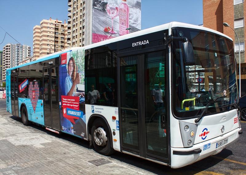 Transportes en m laga autob s metro bicicleta for Horario oficina emt malaga