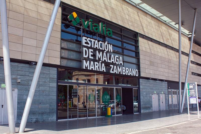 Estación de Málaga Maria Zambrano
