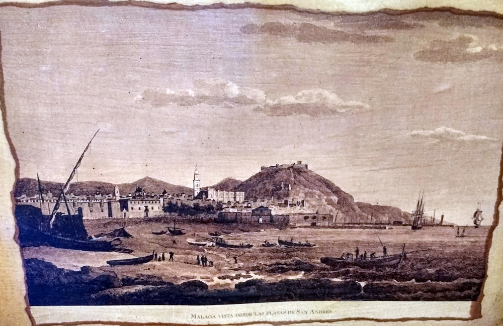 Málaga en la historia