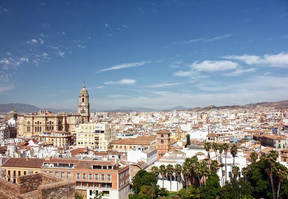 Panorámica del centro histórico y la Catedral