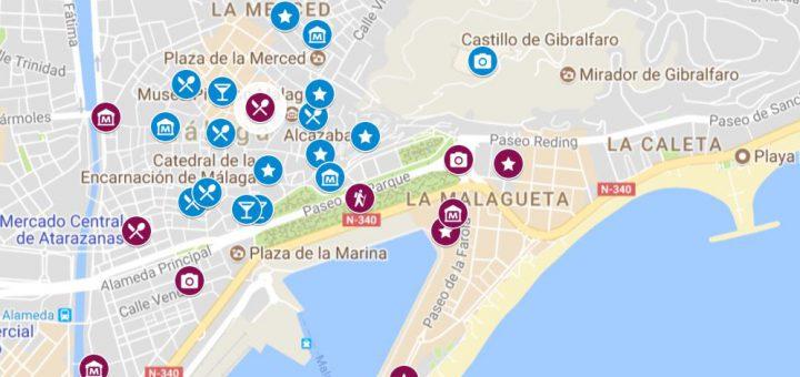 Itinerario para conocer Málaga en 2 días