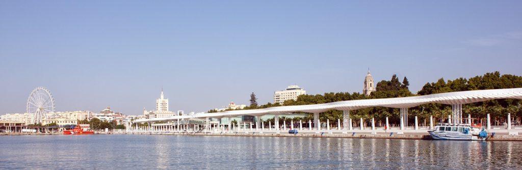 Panorámica del Muelle Uno