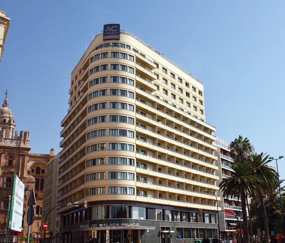 Visión general del hotel Málaga Palacio