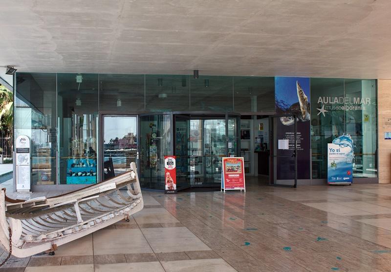Aula del mar - Museo Alborania Málaga