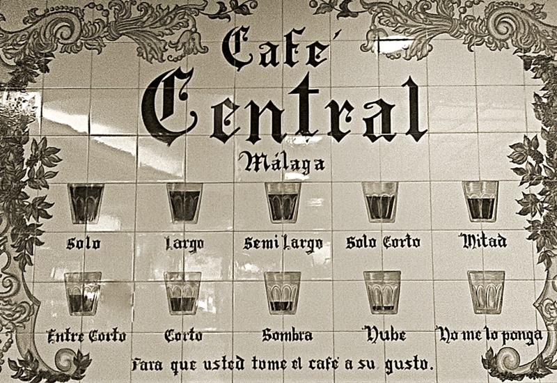 Cafes en Málaga
