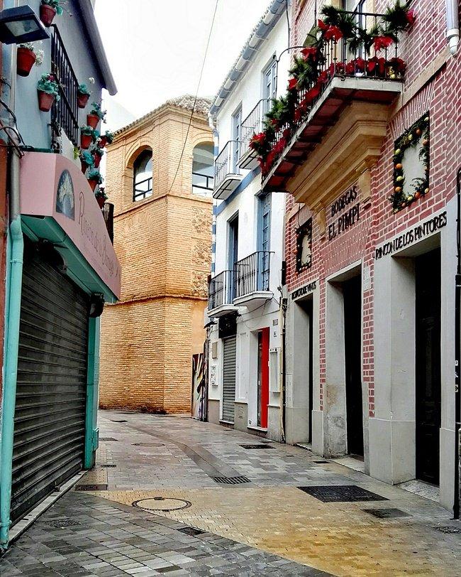 Calle Granada en Málaga