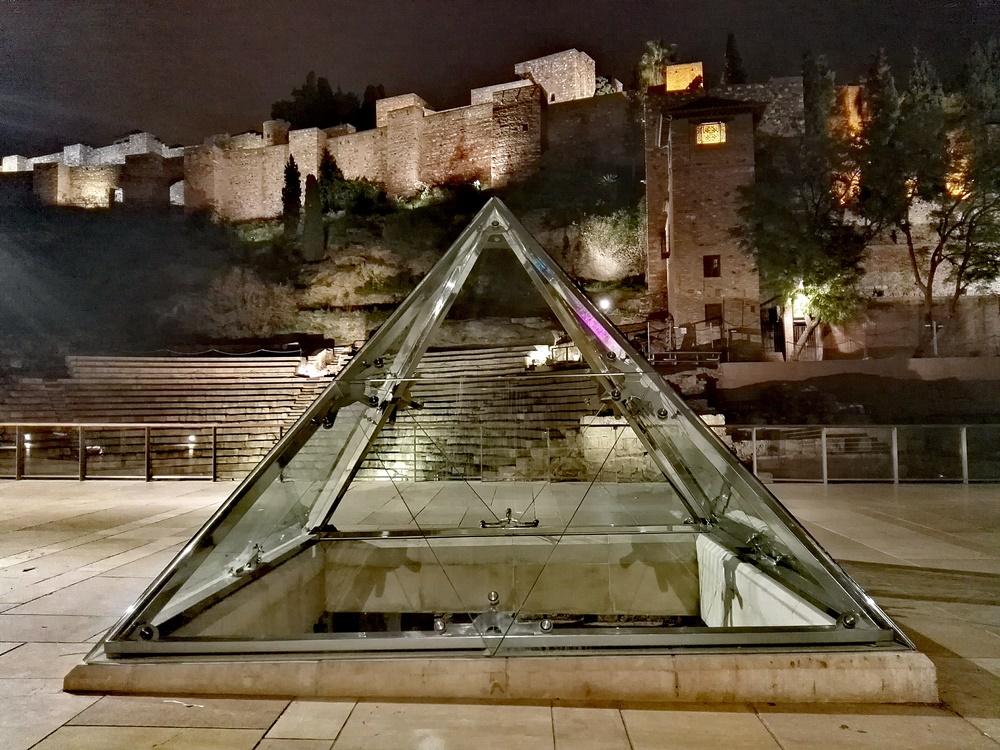 La Alcazaba y el Teatro Romano en Málaga