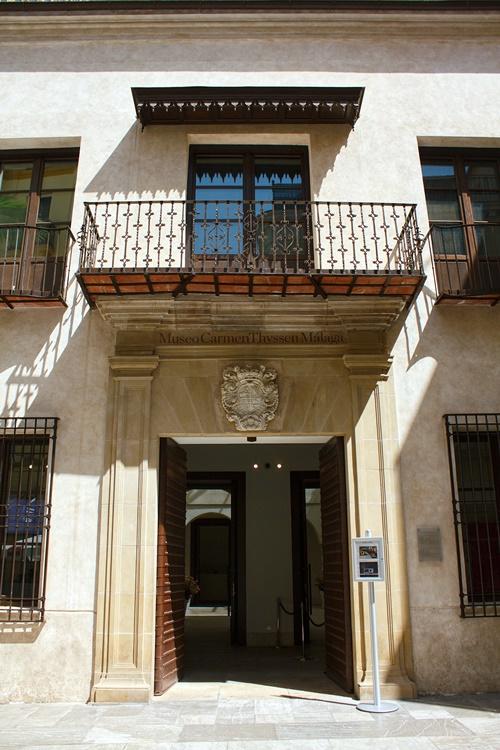 Entrada al Museo Thyssen Málaga