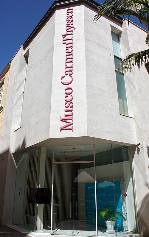 Fachada del Museo Thyssen Málaga