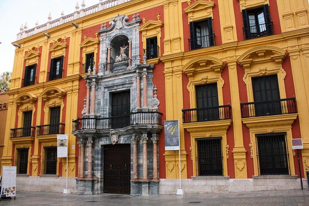 Plaza del Obispo en Málaga