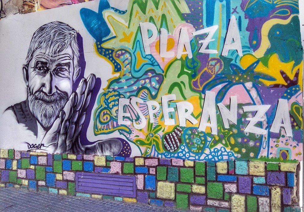 75 fuentes de informacin algunos graffitis callejeros for Graffitis y murales callejeros
