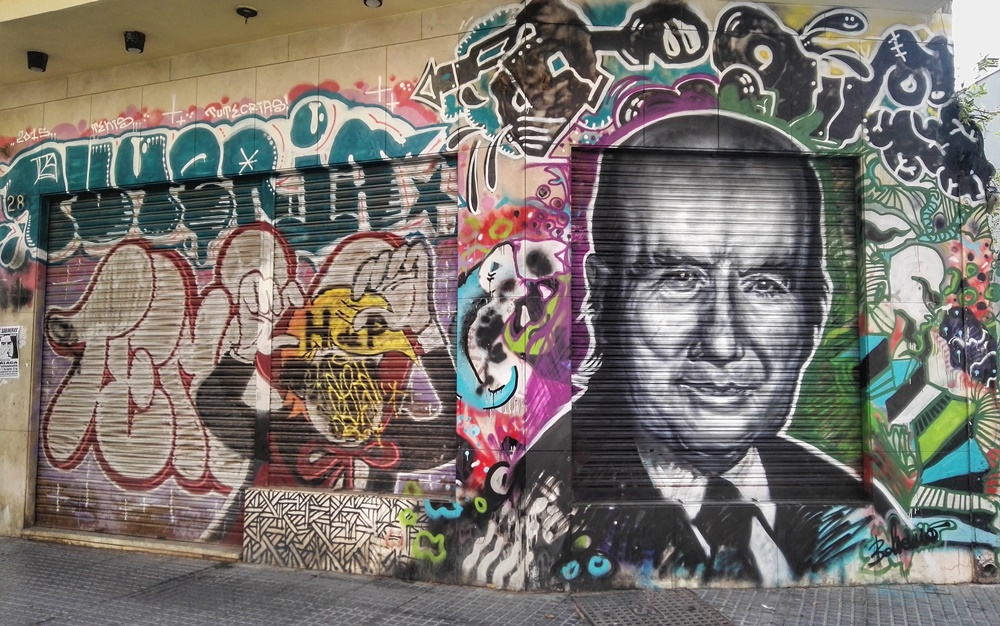 Graffiti de Chiquito de la Calzada