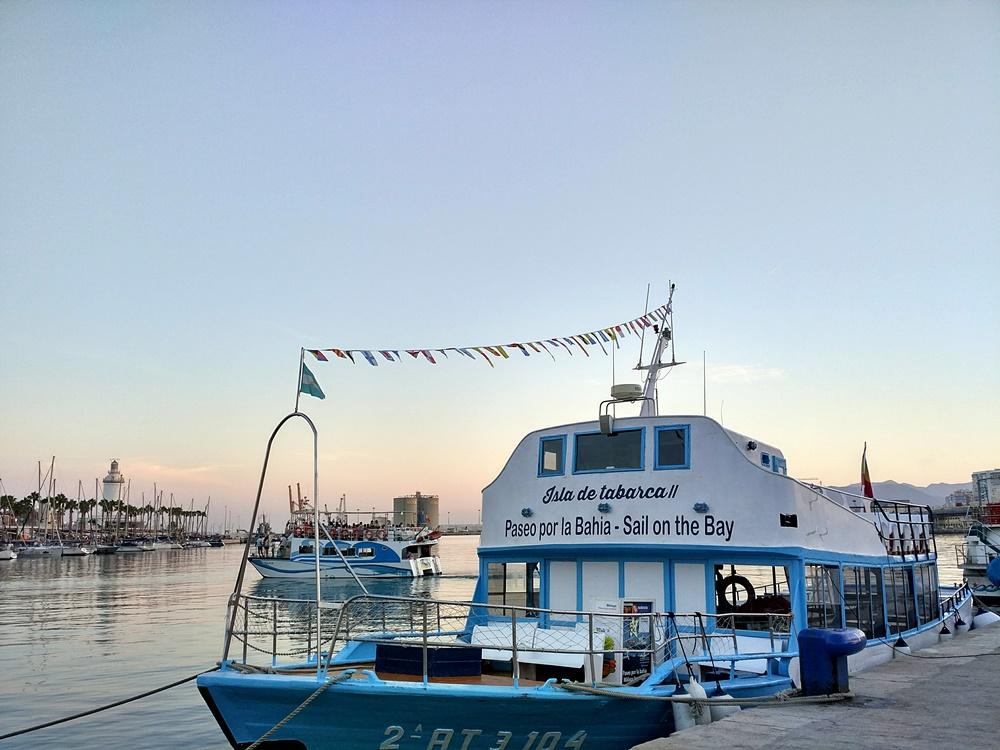 Paseo en barco por Málaga