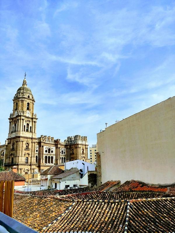 Málaga desde el Chinitas Urban Hostel