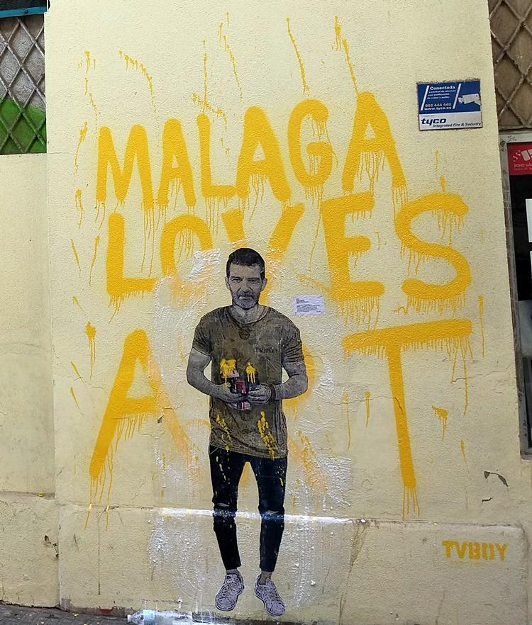 AntonioBanderas_MalagaLovesArt_TVBoy