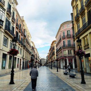 La calle Larios de Málaga