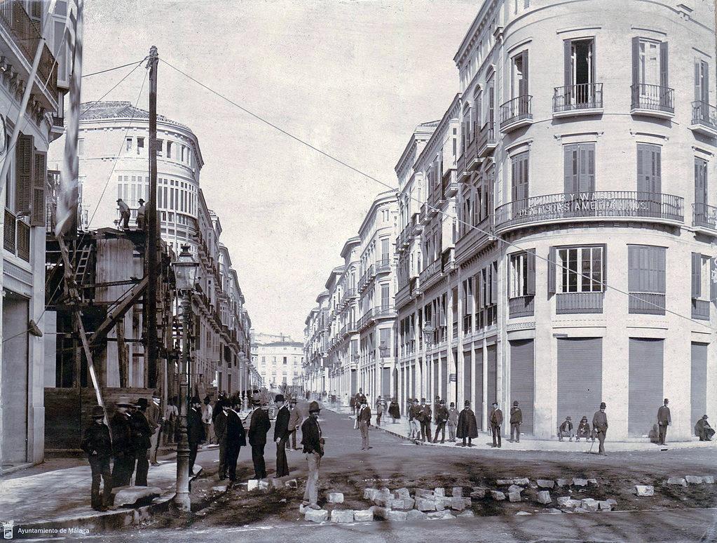 Calle-Larios-Malaga-Historia-1908