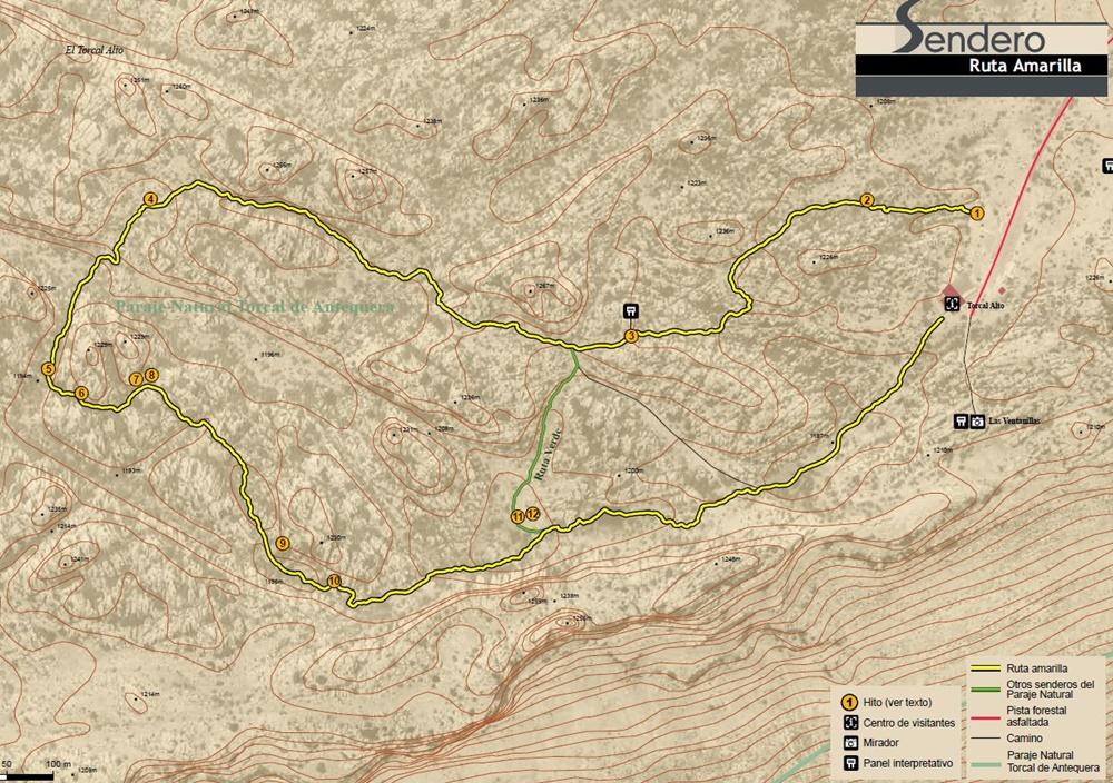 Mapa-Ruta-Amarilla-Torcal-Antequera