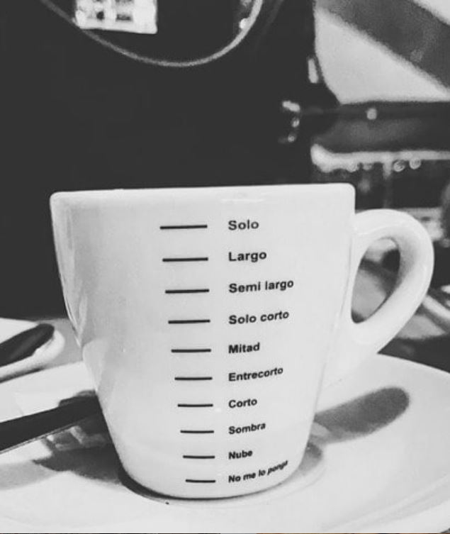 Cafes-Malaga-Tipos