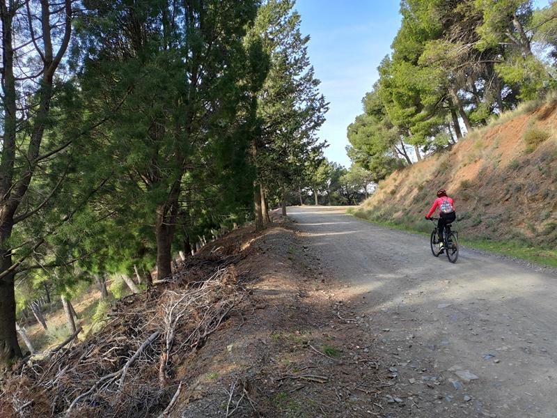 Ciclista-Montes-Malaga