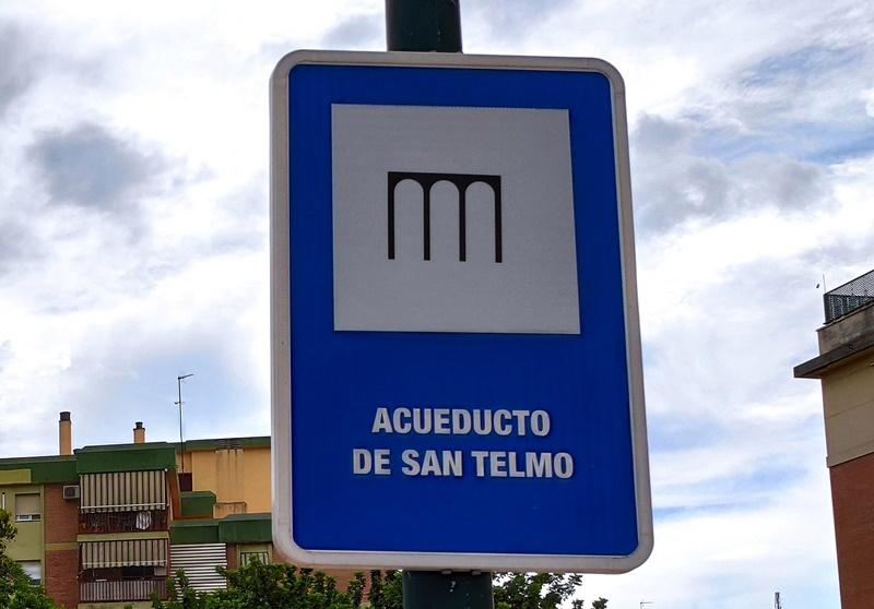 Señal-Acueducto-San-Telmo-Ciudad-Jardin