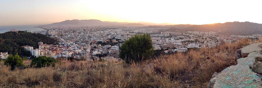 Atardecer-Malaga-Monte-Victoria