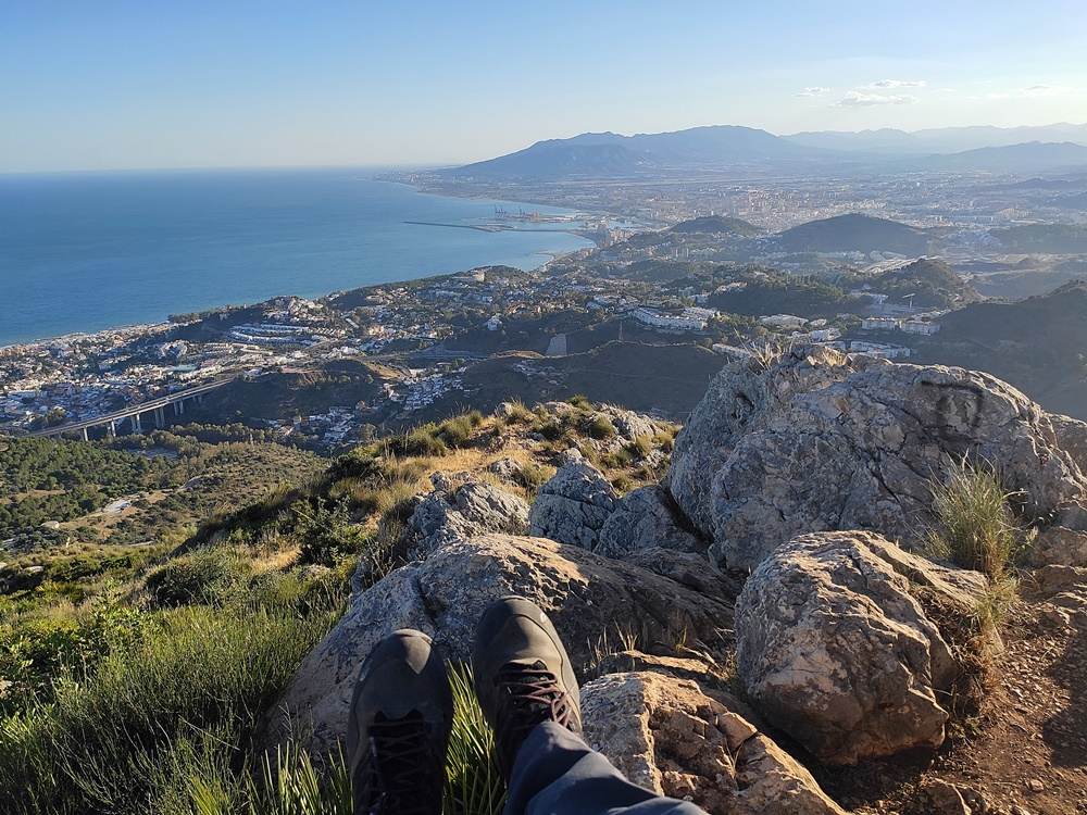 Conquistando-cima-Monte-San-Anton-Malaga